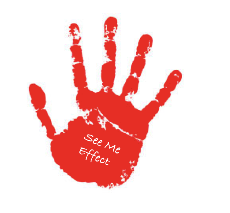 See Me Effect Handprint